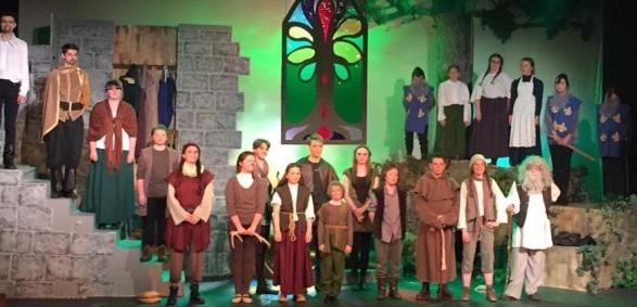 Wanted Robin Hood closing scene